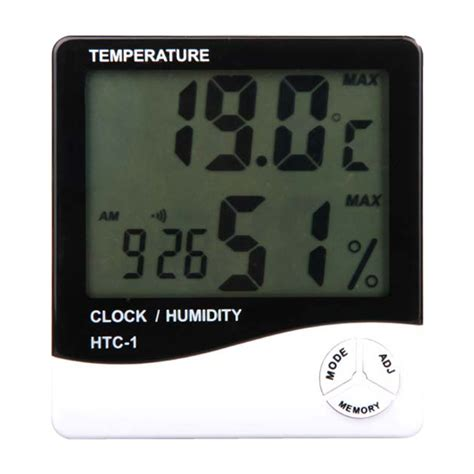 Termometer Thermoone thermometer hygrometer indoor thermo hygrometer digital temperature humidity meter htc 1