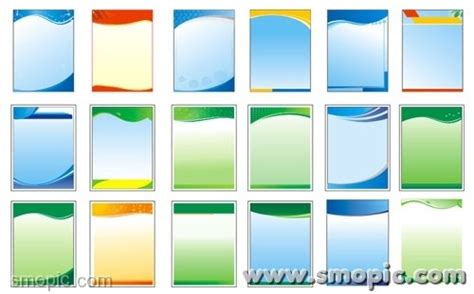 design card template coreldraw 18 simple common vertical panels background coreldraw