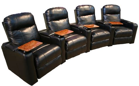 home theater seating quot matinee quot model 103 in black