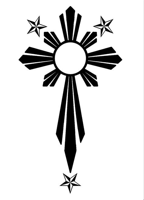 filipino sun cross by clipart best clipart best