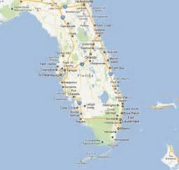 map of florida vacation spots florida vacation destinations map