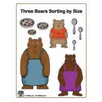 Coloring Book Kindergarten Goldilocks And The Three Bears Activities Crafts And