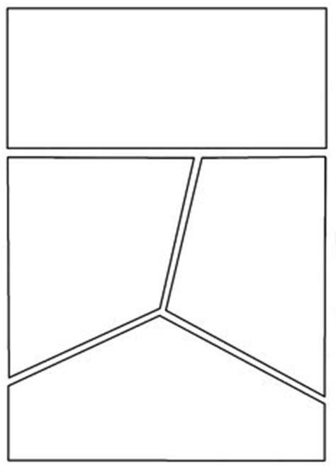 comic book template this is a blank graphic novel comic book template that