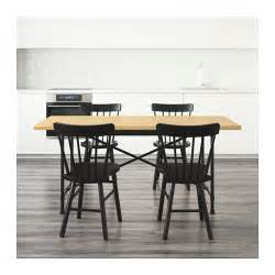 Ikea Karlby Dining Table Ryggestad Karpalund Norraryd Table And 4 Chairs Pine Black