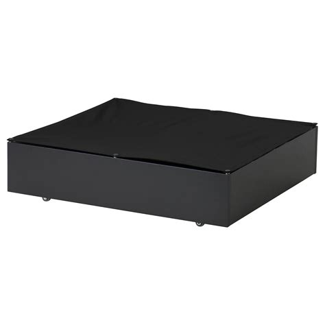 ikea bed storage vard 214 bed storage box black 65x70 cm ikea