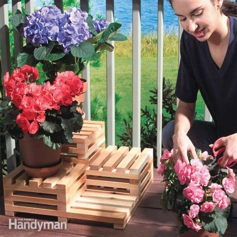 tiered plant stand  family handyman