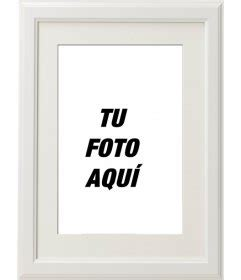 imagenes de marcos minimalistas marco de fotos blanco elegante y minimalista para decorar