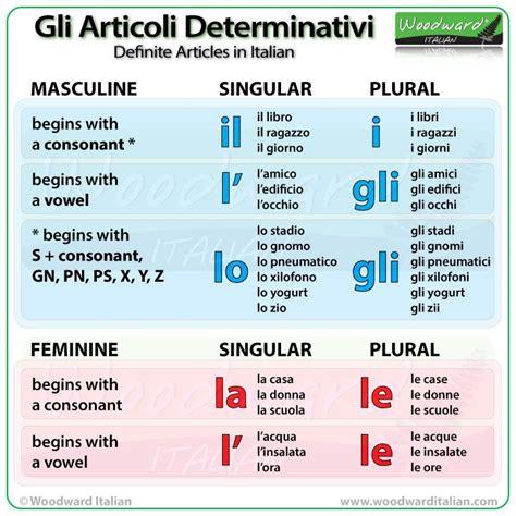italian language test definite articles in italian italian practice learning