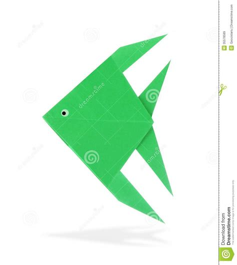 Origami Tropical Fish - origami fish royalty free stock images image 35578589