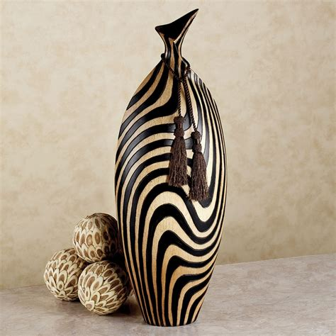 Zebra Vases by Zebra Stripe Table Vase Go Decorating With