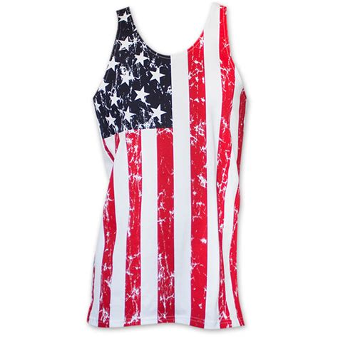 Decke Usa by Usa S Distressed Tank Top