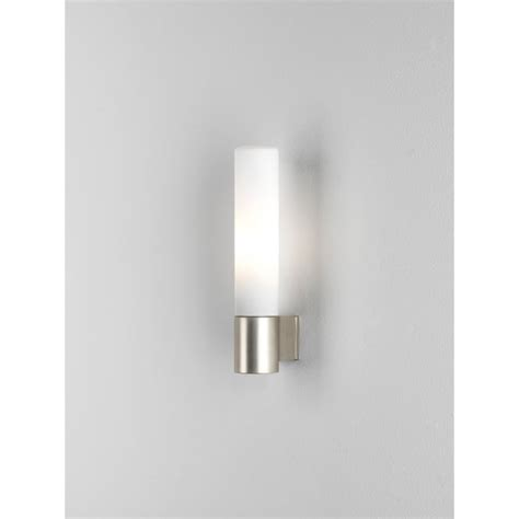 Halogen Bathroom Light Astro Lighting Bari Single Light Halogen Bathroom Fitting In Matt Nickel Lighting Type From
