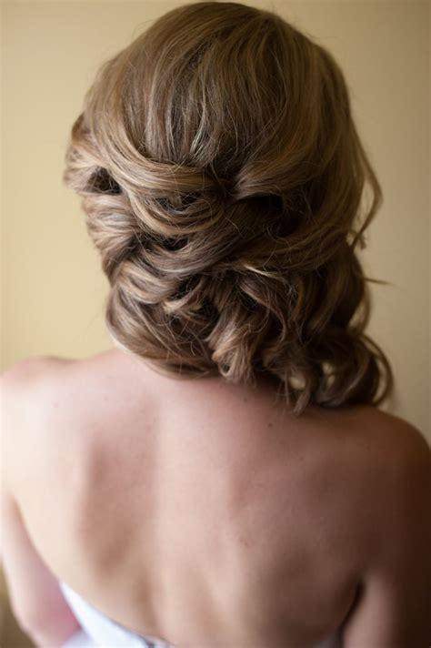 hair updo shoulder long soft updo wedding hair over the shoulder updo www