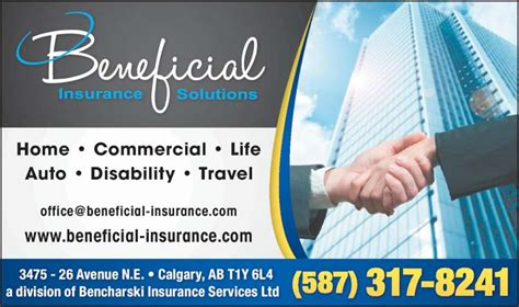 bencharski insurance services ltd calgary ab 3475 26