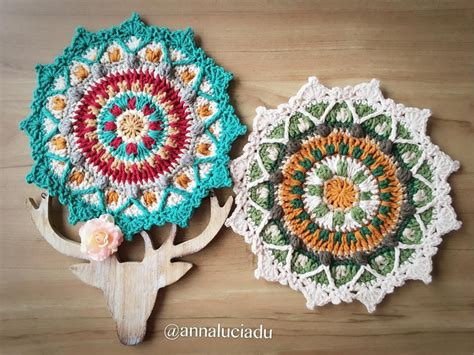 crochet mandala 15 mandala crochet patterns to bust your stash