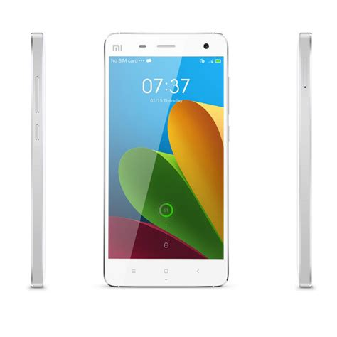 white rom android xiaomi mi 4 android 3g phone w 3gb ram 16gb rom white free shipping dealextreme
