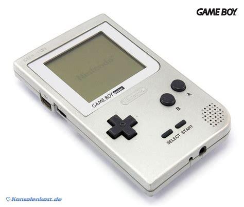 gameboy console gameboy pocket console silver ebay