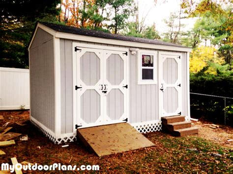 diy backyard shed diy backyard storage shed with r and steps