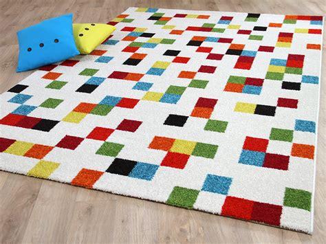 Teppiche Bunt by Designer Teppich Funky Pixel Wei 223 Bunt Teppiche