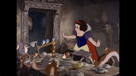 Snow White And The Seven Dwarfs Cottage by Snow White And The Seven Dwarfs Wallpaper 119013