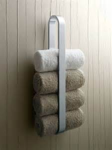 Towel Rack Ideas For Small Bathrooms 25 Best Images About Bathroom Towel Racks On