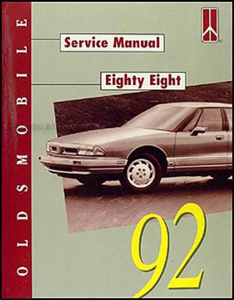 1992 Oldsmobile Eighty Eight 88 Repair Shop Manual