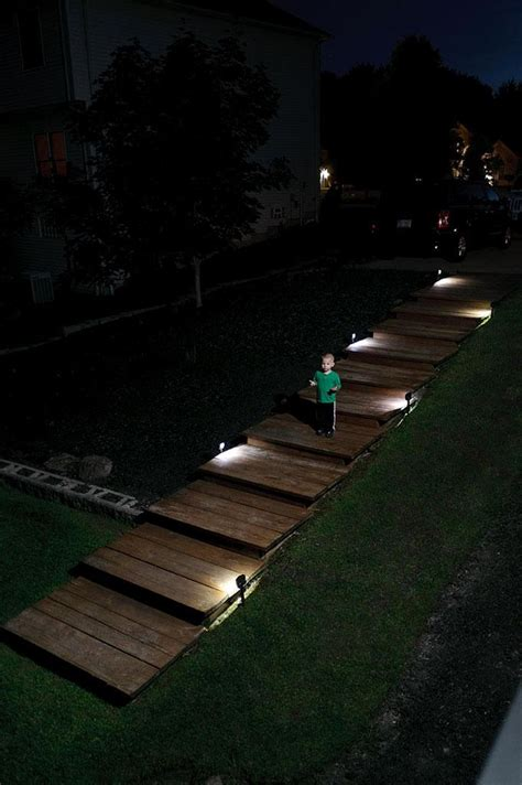 Landscape Path Lighting Mr Beams Mb572 Battery Powered Motion Sensing Led Path Light 2 Pack Landscape Path Lights