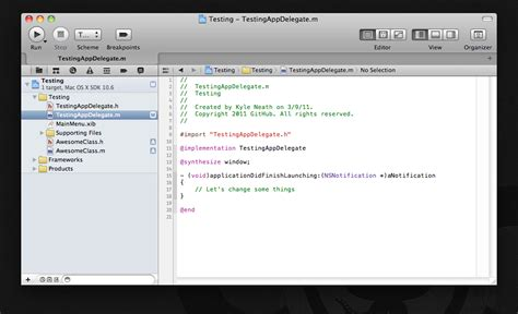 git xcode 6 tutorial xcode 4 发布 集成 git 版本控制 开源中国社区