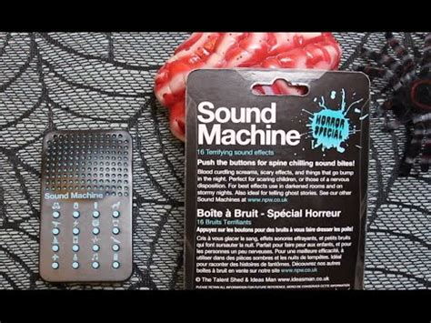 sound machine that sounds like a box fan sound machine horror special great for