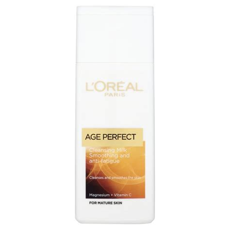 L Oreal Cleansing Milk l oreal age cleansing milk 200ml from ocado