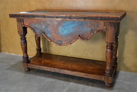 Southwestern Style Table Ls by Rustic Console Table Catalog Southwestern Style Furniture