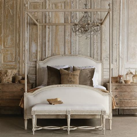 white canopy bed eloquence dauphine upholstered weathered white canopy bed modern canopy beds by layla grayce