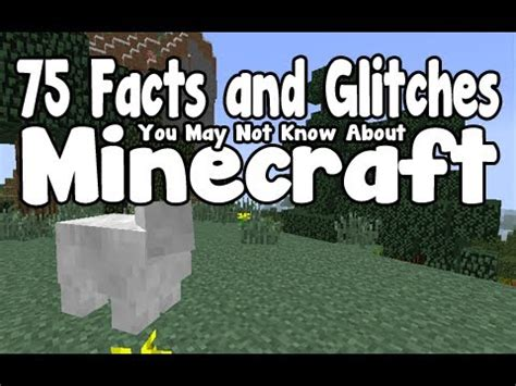 25 Facts You May Not Know About Minecraft Gearcraft - 75 facts and glitches you may not know about minecraft 1