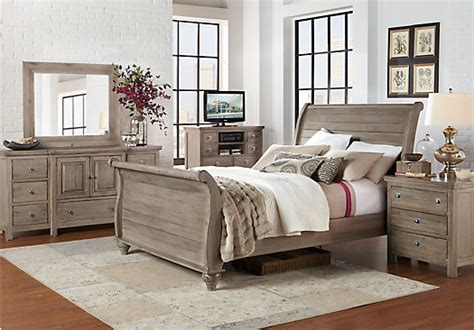 summer bedroom set summer grove gray 7 pc king bedroom bedroom sets
