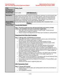 Company Sop Template by Standard Operating Procedure Template Sop Template