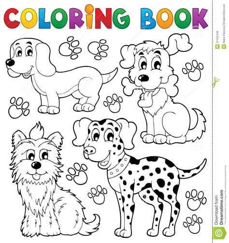 coloring book free vector coloring book theme 5 stock vector image of looking