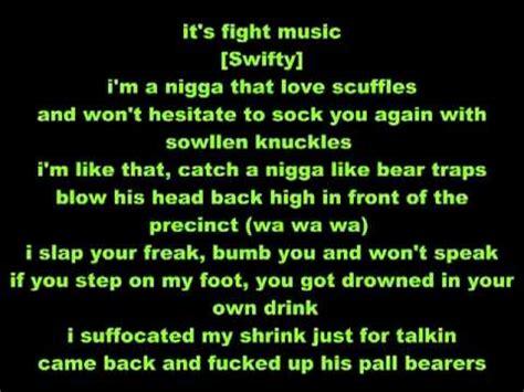 mi swing es tropical lyrics d12 fight music lyrics on screen youtube