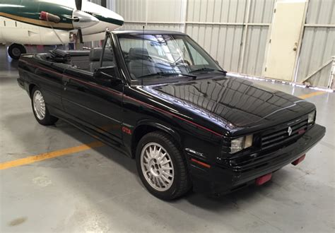 1987 renault alliance gta convertible for sale on bat