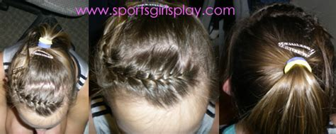gymnastics meet ponytails pictures hairstyles for gymnastics meets and cheerleading