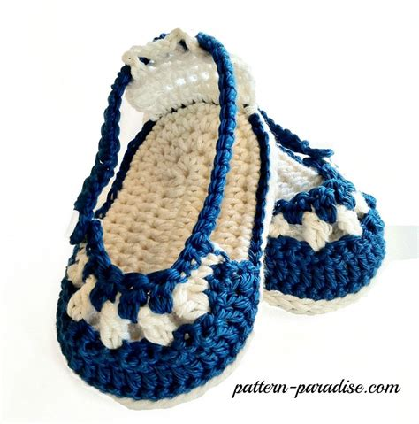 7817 Cing Bag Grey nautical sandals and headband crochet pattern by pattern