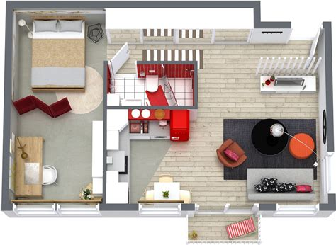 one bedroom floor plans roomsketcher
