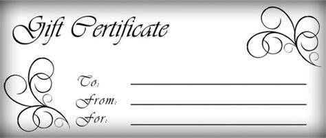 Gift Certificates Templates Free Printable Gift Certificate Template Pictures 3 Artistic Downloadable Gift Card Templates