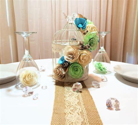 birdcage floral centerpiece floral birdcage birdcage wedding centerpieces mint green