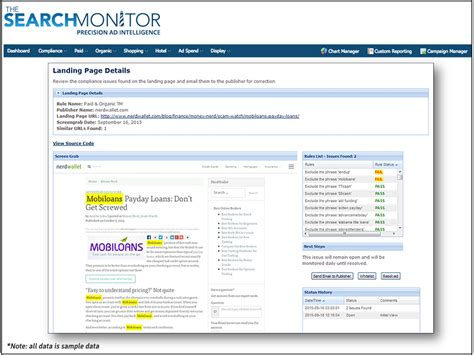 The Search Monitor Monitor Ads For Federal Ad Regulations And Offer