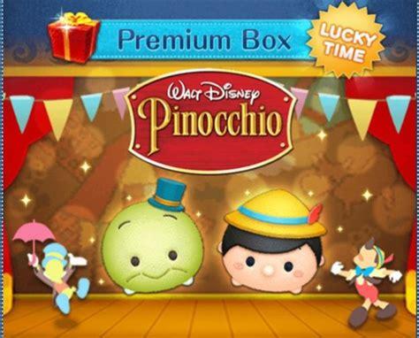Tsum Pinokio pinocchio tsum tsum added to the international version of