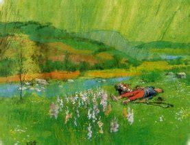 Le Dormeur Du Val Illustration by Parcours Litt 233 Raires Illustration Pour Quot Le Dormeur Du Val Quot