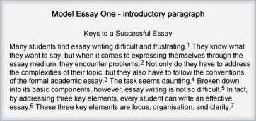 Exle Of An Essay Introduction by How To Write An Essay Introduction Paragraph Exle How To Write A Strong Introductory Paragraph