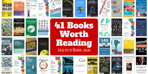 8 Books Worth Reading by 41 Books Worth Reading Leading Learning Questioning