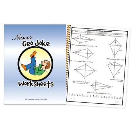 Geo Joke Worksheets 2002 Nasco Answers
