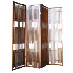 Panel Room Divider Ore International Walnut 4 Panel Room Divider By Oj Commerce R5427 4 275 04